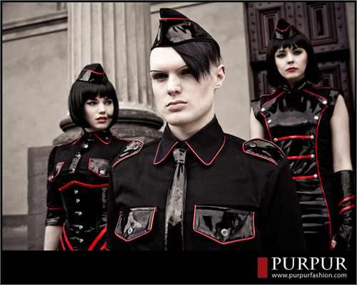 melbourne  Oct 25, 2009 PurPurFashion.com + Eleen Duffy Photography Total Control