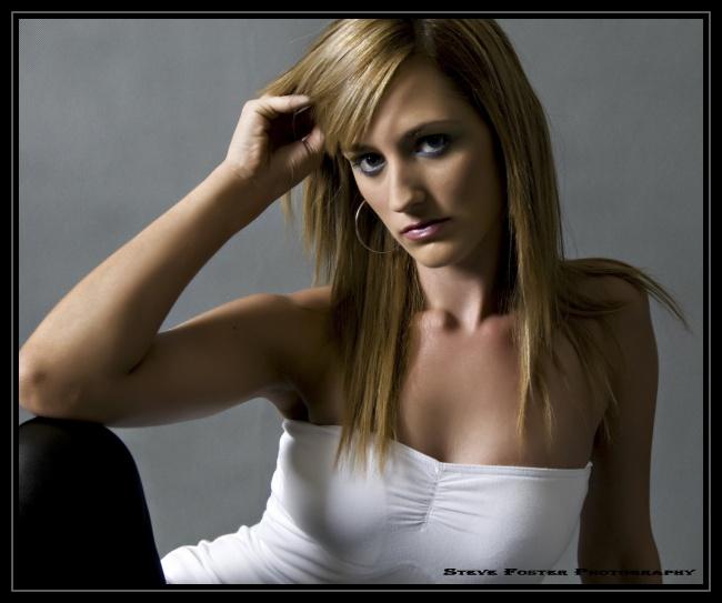 Female model photo shoot of Tahnee Cirjanic by SteveFosterPhotography, makeup by Amanda Johnson Makeup