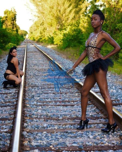 Female model photo shoot of Beautiful Garbage Photo, Chocolate Jones and MS JACKSON