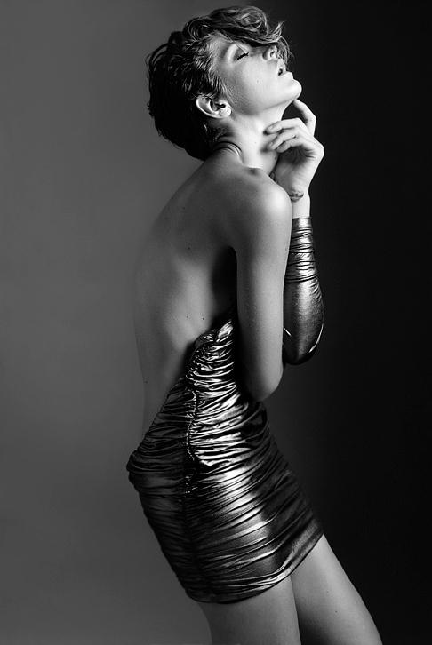 Female model photo shoot of Iman Haji in Santa Monica
