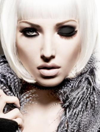 Female model photo shoot of Guru Makeup Emporium