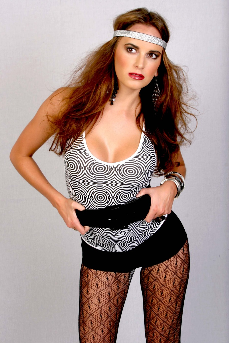 Private Residance-Canyon Country,CA. Oct 27, 2009 Scott Weiner Jena Loves Wearing Her BeBe Fashion Clothing