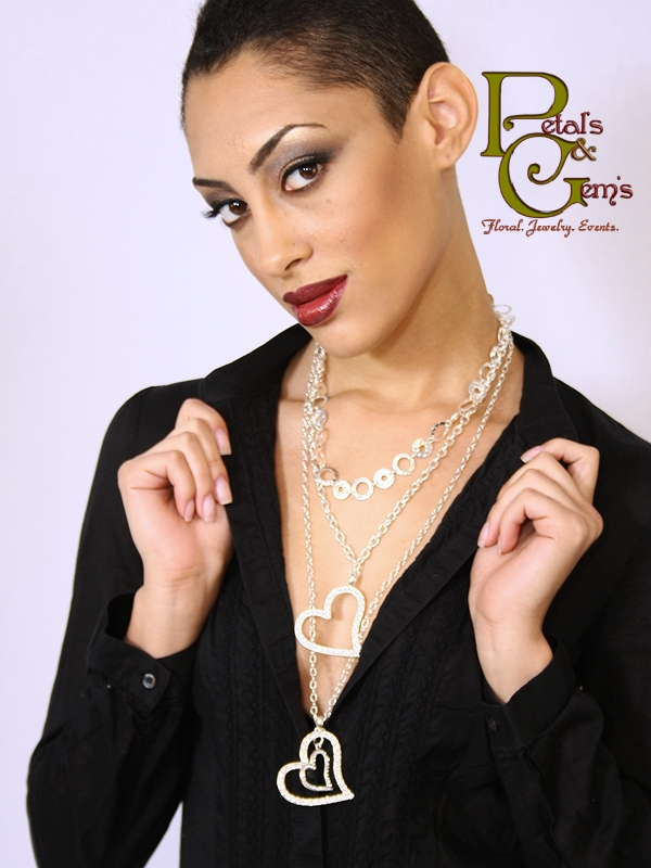 Female model photo shoot of B Michele Designs and Gabrielle Faith by Images Moments , makeup by Rashida LaShawn