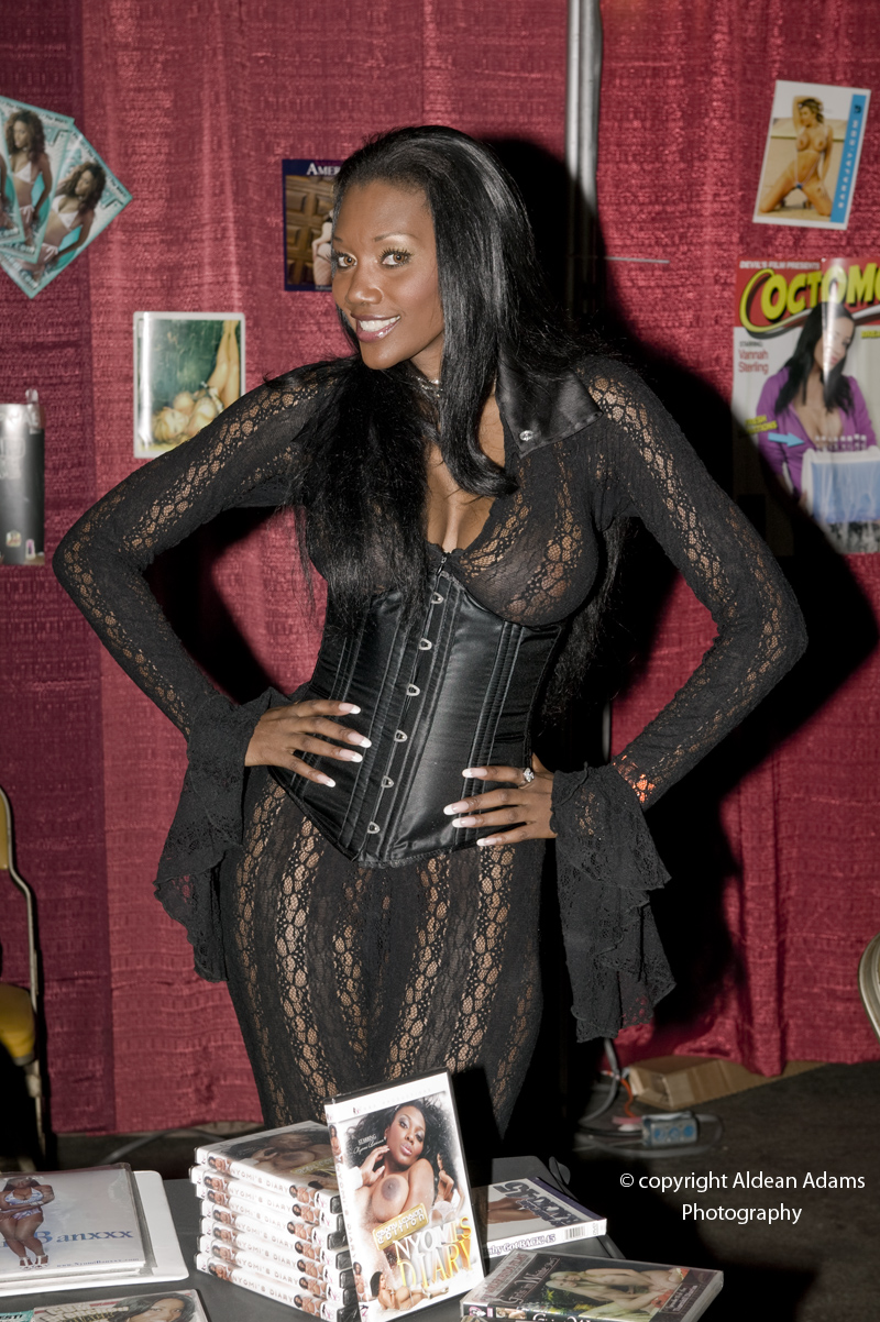 San francisco ca./Cow Palace/Exotic Erotica Ball 10/24/09 Oct 28, 2009 aldean adams Photography Adult Film Star  Nyomi Banks