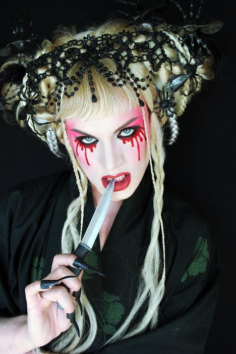 Oct 29, 2009 Jez Eaton Photography halloween makeup