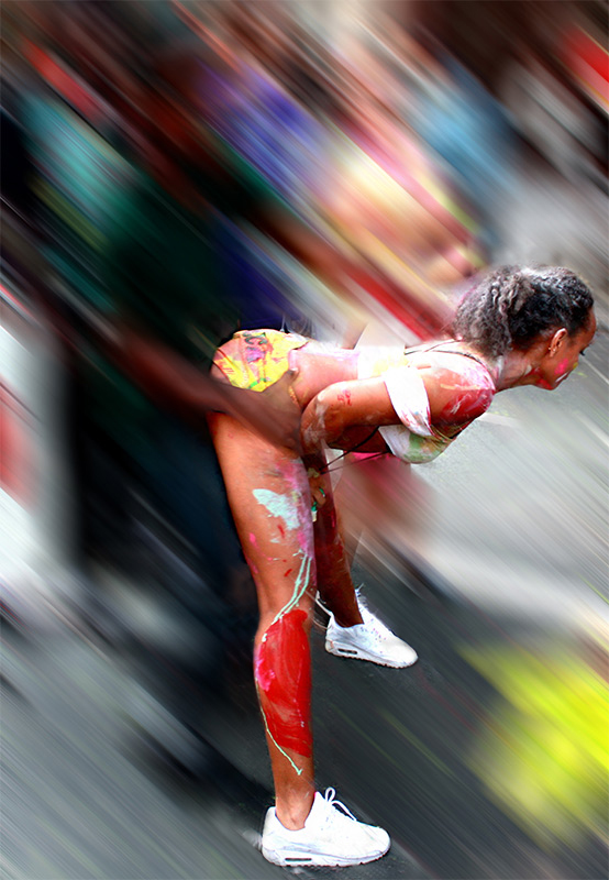 Brooklyn Oct 29, 2009 Photo Couture Jouvert mornin running de road!!!!!!