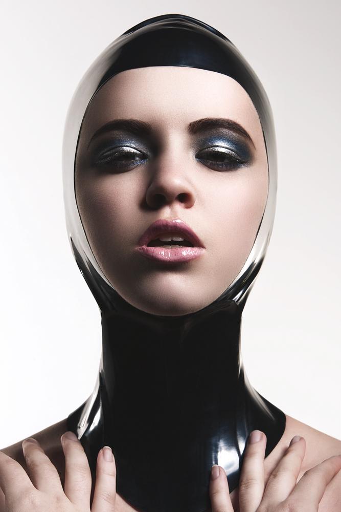 Female model photo shoot of PRETTY PUBLIC AFFAIR and Lauren WK by K E S L E R, makeup by PRETTY PUBLIC AFFAIR