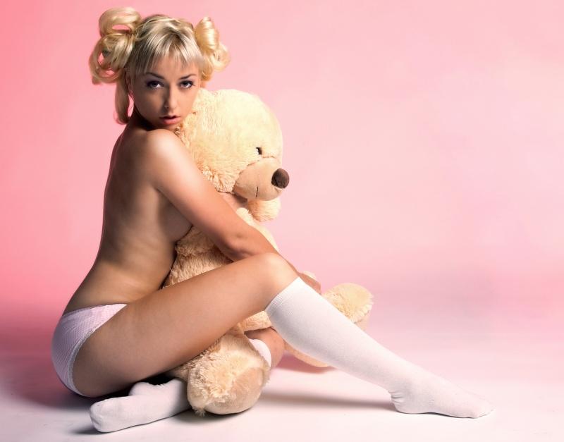 Female model photo shoot of Lolita by RandoM visions in Breda, Netherlands, makeup by Majella