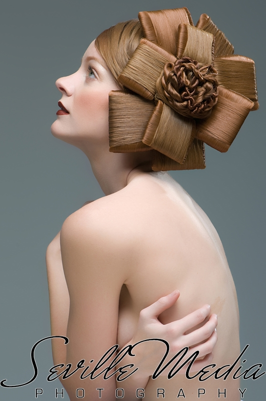 milwaukee Nov 02, 2009 Seville Media Editorial hair shoot with the stunning KJ Lyn
