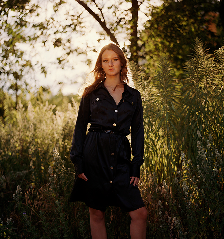 Female model photo shoot of Petya in Chicago