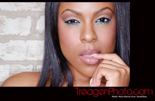 Female model photo shoot of Mena Monroe by Treagen