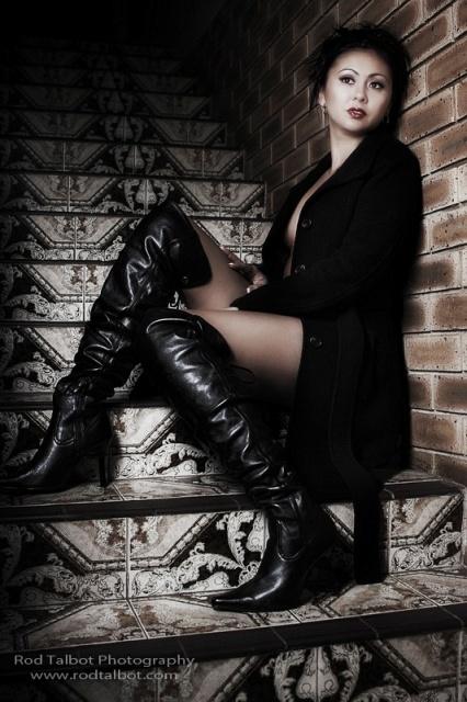 Brisbane Nov 05, 2009 Rod Talbot Jackets...boots...lingerie