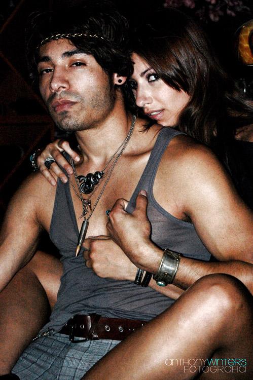 46 Lounge Nov 05, 2009 Plaid Skinny Pants by Hubert A Serna