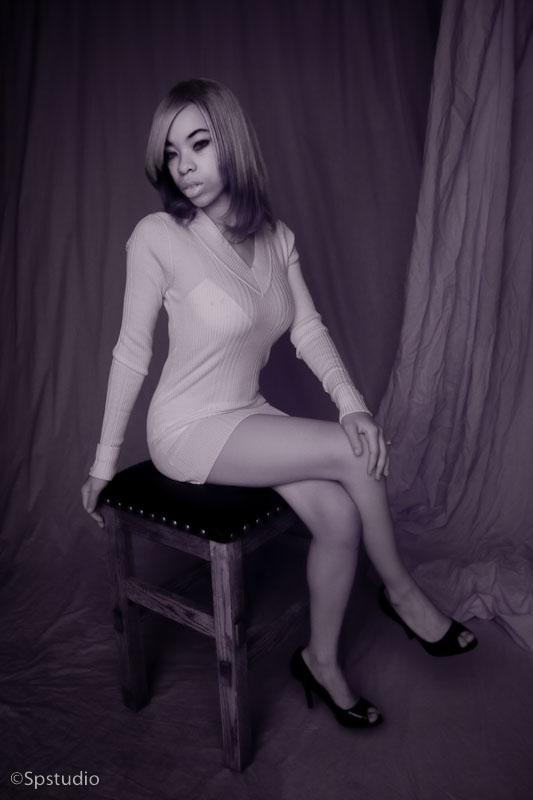 Female model photo shoot of Ironica Nomura Hope by SPstudio