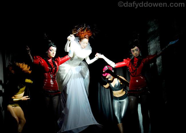 SeOne, London Nov 06, 2009 Photo by Daf Halloween Torture Garden show.
