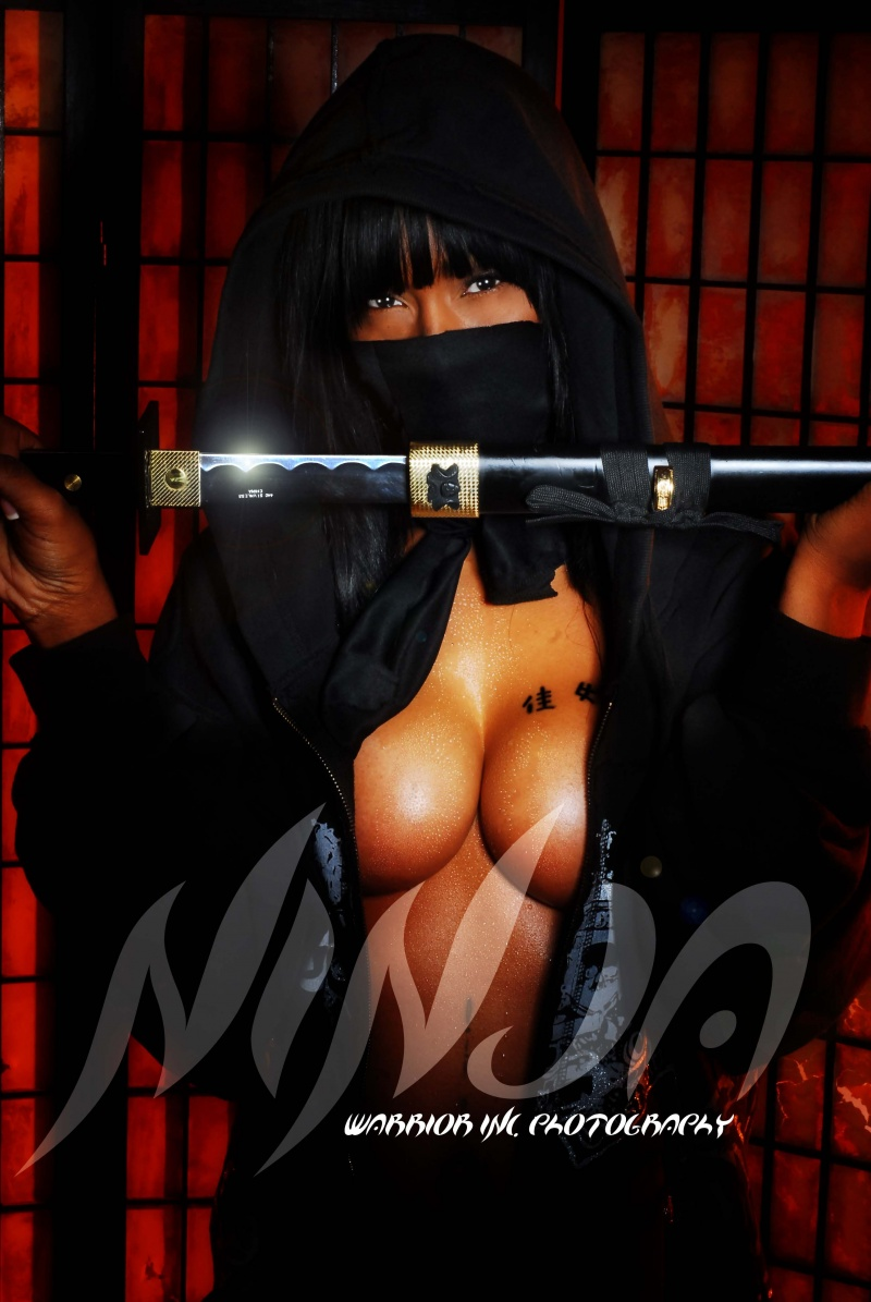 WIP STUDIOS Nov 06, 2009 Warrior Inc. Photography Ninja Warrior (Raquel Johnson)