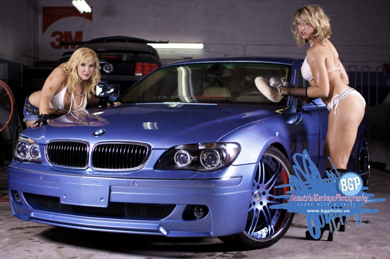 Female model photo shoot of Beautiful Garbage Photo, Katie Stanczyk and Christine Houghtaling in Amazing Autoworks, Miami Florida