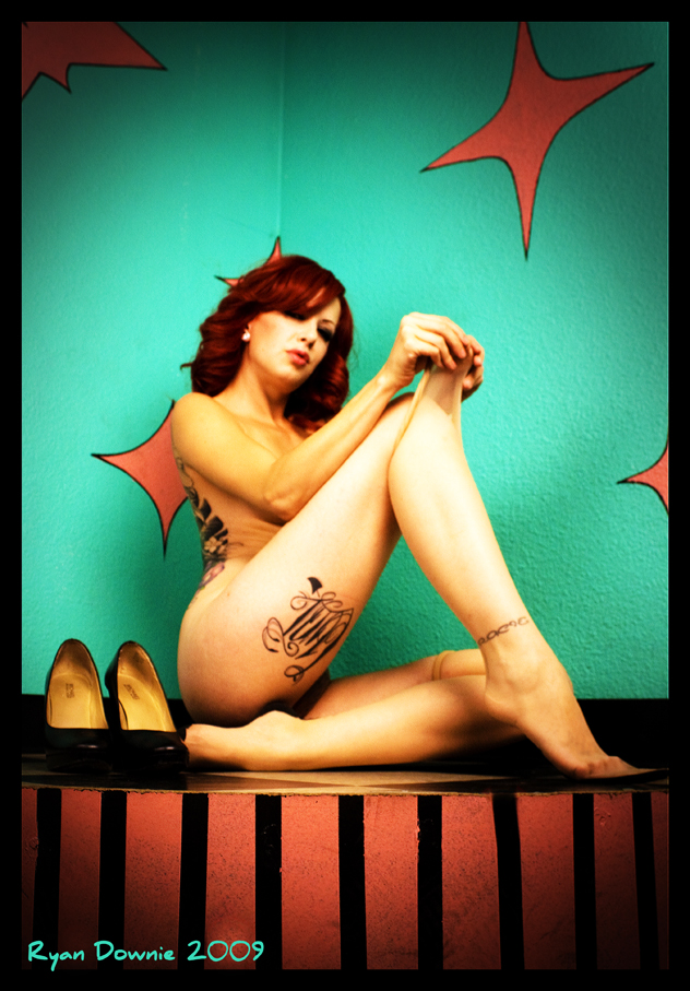 Last Chance Tattoo Nov 10, 2009 Ryan Downie model is Crash