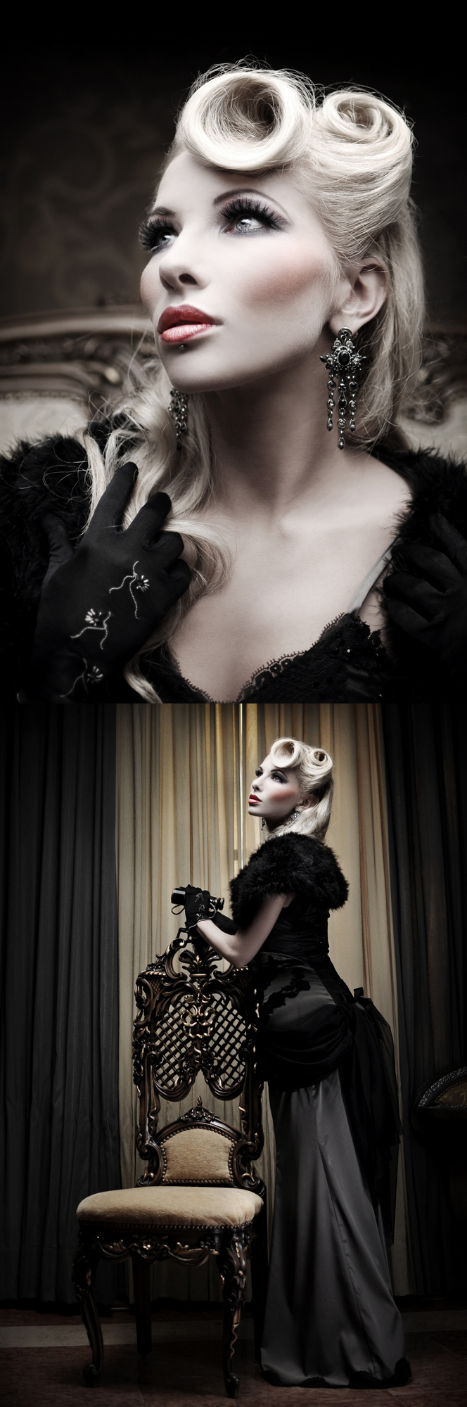 Nov 14, 2009 Photographer: Silent View, Mua: Mela Von Winter; Vecona Couture