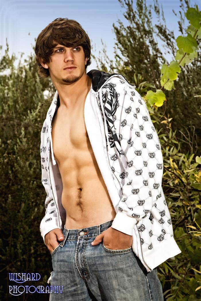 Male model photo shoot of Joshua T by Nancy Wishard in Fallbrook