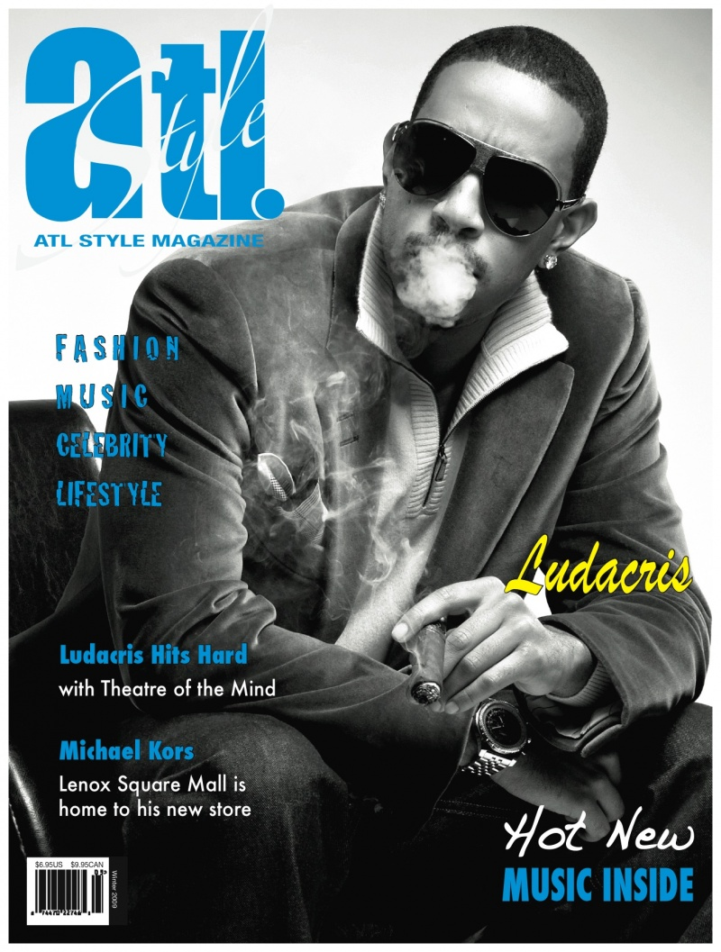 Atlanta, GA Nov 17, 2009 ATL Style Magazine Ludacris Cover (Shot by photographer Drexina Nelson)