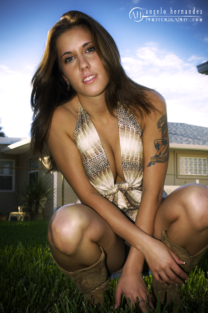 Female model photo shoot of Amber Dianne by Angelo Hernandez Photo