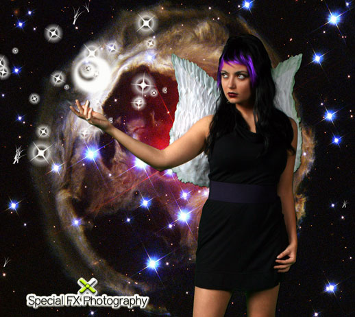 Male and Female model photo shoot of Special FX Photography and Xochitl Safad in Special FX Photography Studio