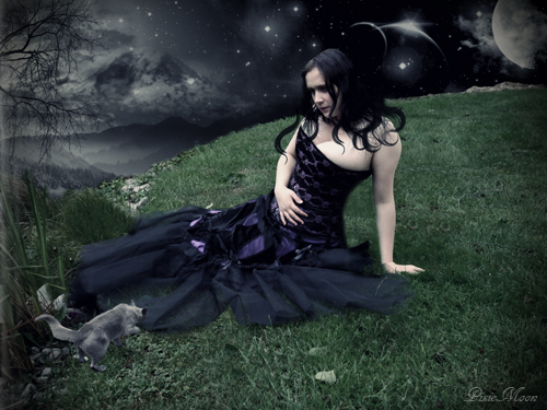 Female model photo shoot of Lily Lachrimae by ImagerybyDesign in Churton Park, Wellington