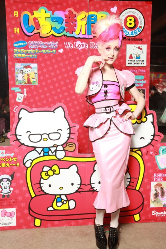 Nov 19, 2009 Faery Lepidoptera in a custom outfit for the 35th anniversary Hello Kitty Fashion show