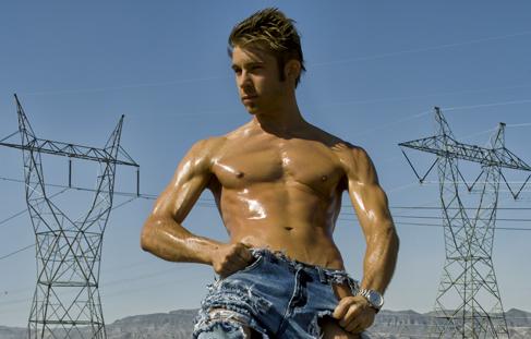 Male model photo shoot of Bryan Luksus by Jose Alexzander in Boulder City, NV