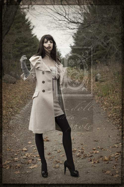 Female model photo shoot of Jenn Esso in Norse Ridge Farm