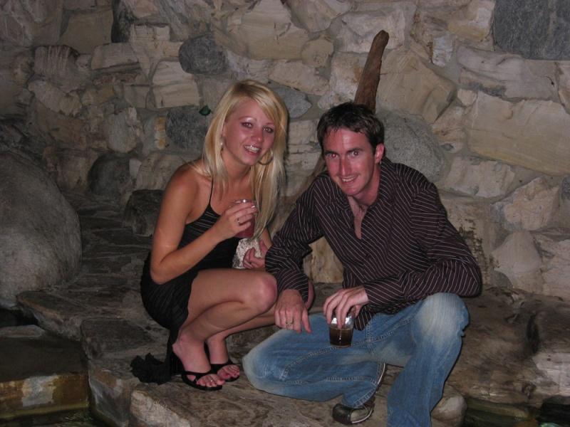 The Grotto Playboy  Mansion Nov 22, 2009 FastandSexy.com Alicia and Sam