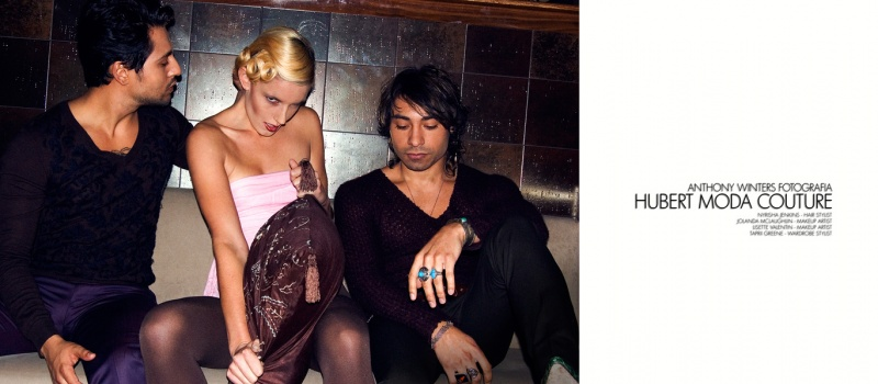 Nov 23, 2009 ©2009 Anthony Winters Fotografia Hubert Moda Couture