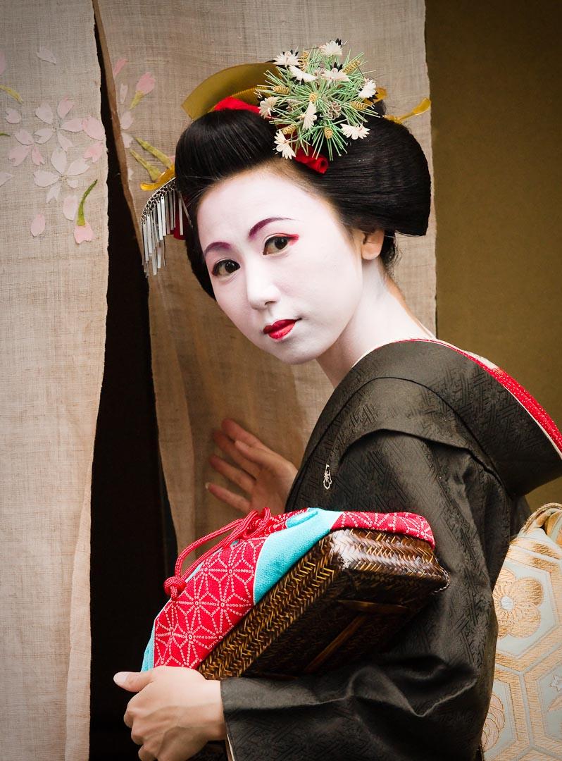 Kyoto, Japan Nov 23, 2009 Igor Vidyashev Photography THIS REAL CANDID!  geisha shot taken on the streets of Kyoto, JAPAN.