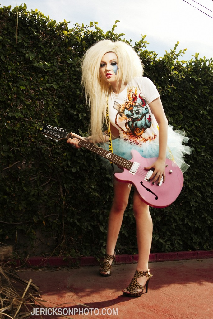 Los Angeles/Hollywood Nov 23, 2009 Jennifer Erickson Photography Barbie Lux for Bleeding Star Clothing styled by me