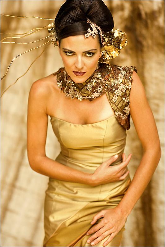 Nov 24, 2009 Designer: Xue Dong Ding, Model: Monique G, Makeup: Linda Bowman Style-ology Magazine Cover