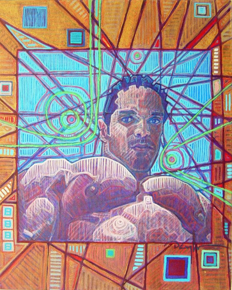 Nov 25, 2009 Darren Engleman Raul, acrylic on canvas, 16x20