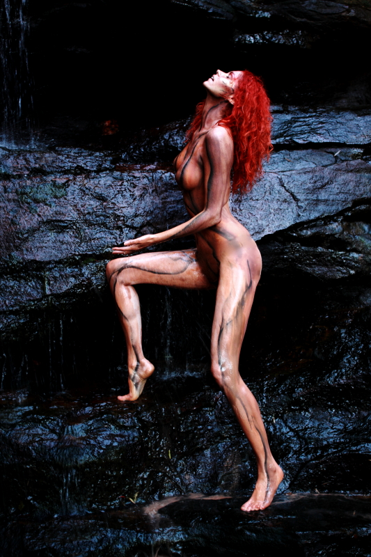 Nov 26, 2009 Mythical Ink & Sidetracked Designs Body paint plus water- relative durability