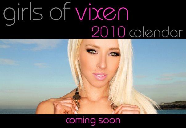 www.vixenmanagement.com Nov 29, 2009 Vixen Management & Neil Dixon Photography Girls of Vixen Calendar