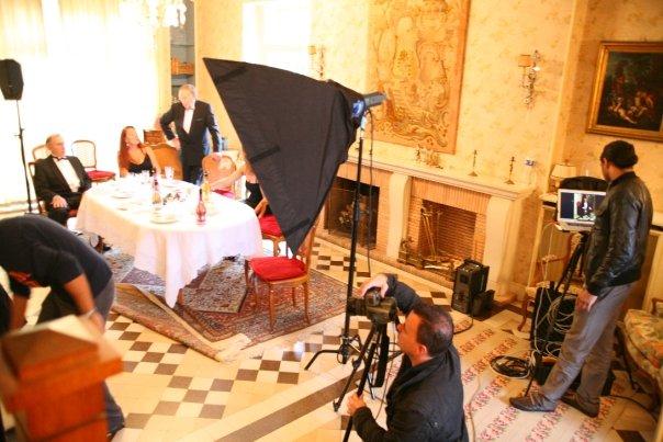 Chigny - Les - Roses / FRANCE Nov 29, 2009 The Musketeers Armand De Brignac (2010 Campaign Shoot)