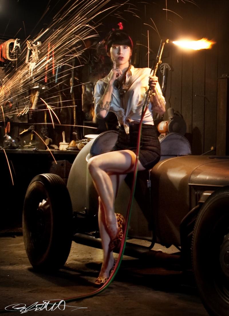 Female model photo shoot of Cayla Elliott and antietam