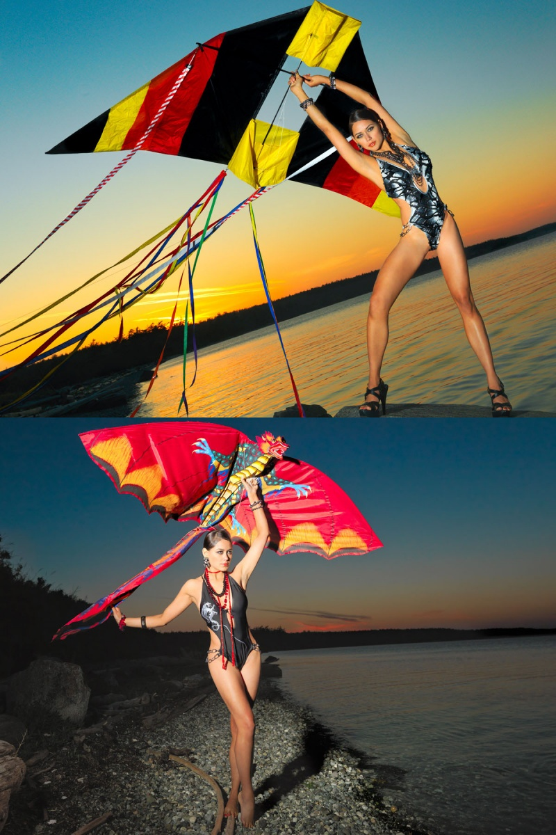 Dec 01, 2009 Sample from Go Fly a Kite Editorial. Artistic Director -MH. Swimwear by Heidi Fish, styled by MH. Model- Celeste. MHs assistants- Nate Siam, Kathy Martin Reid, Jefe Michael.