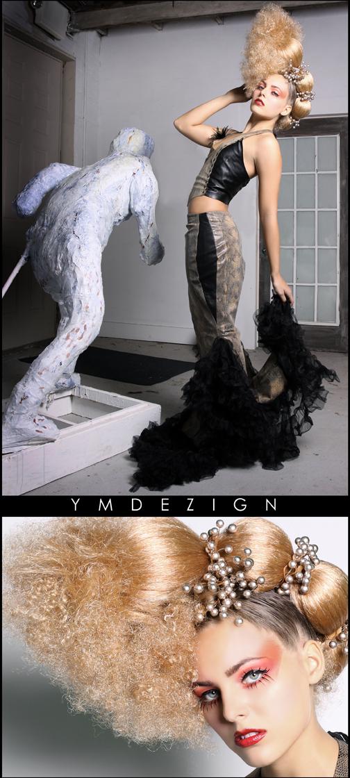 YMDEZIGN Studio Dec 02, 2009 YMDEZIGN HAIR COUTURE- MUA/Styling by LADIEKADIVA.com - Hair and Wardrobe by Samantha Huntley