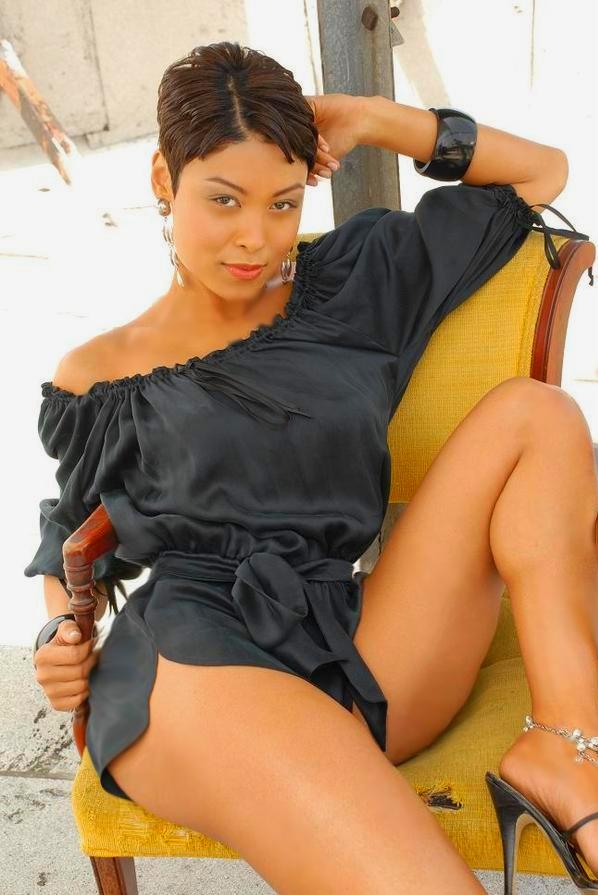 Female model photo shoot of Nevaeh Lee in Los Angeles