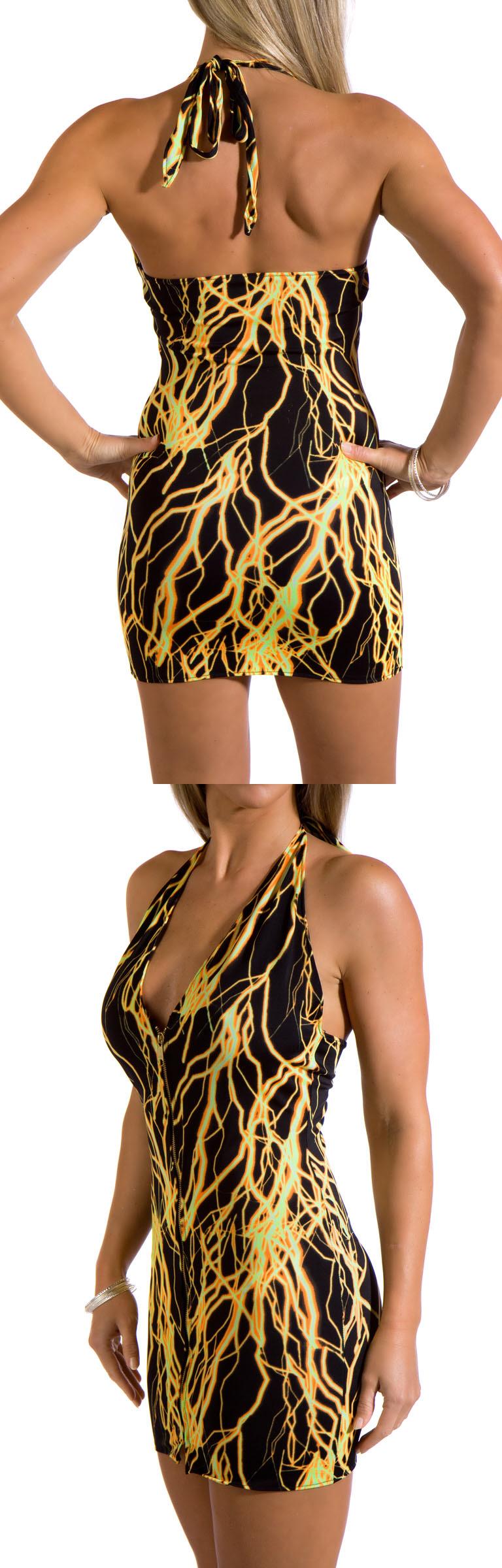 Dec 02, 2009 Zip Up Front halter dress