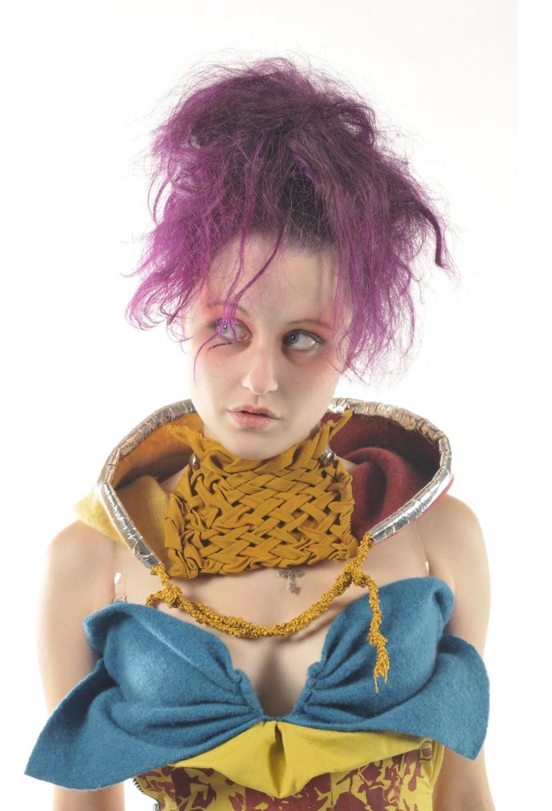 Limerick  Senior College Dec 03, 2009 Matt Karp and LCFE Headshot from fashion shoot 1 - Dress by Matt Karp