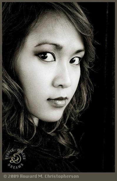 Studio work, MN Dec 03, 2009 the look of a Vietnamese girl