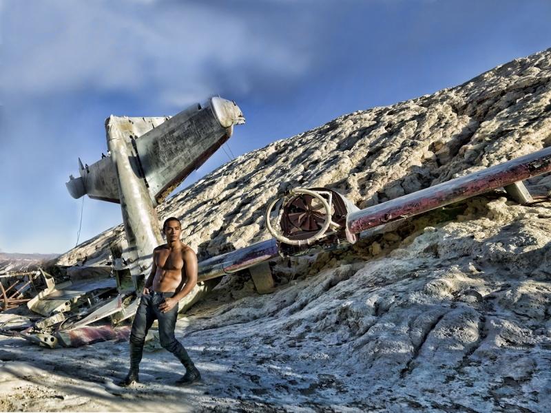 Las Vegas Dec 03, 2009 Jose Alexzander Plane crashed
