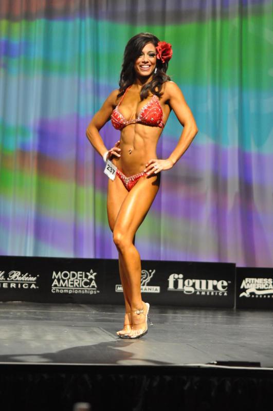 Vegas Dec 03, 2009 Fitness America- 4th Place Bikini!