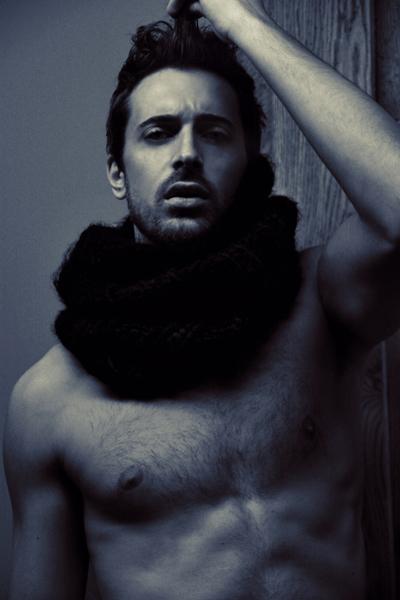 Male model photo shoot of Matthias Rabbione in Milan